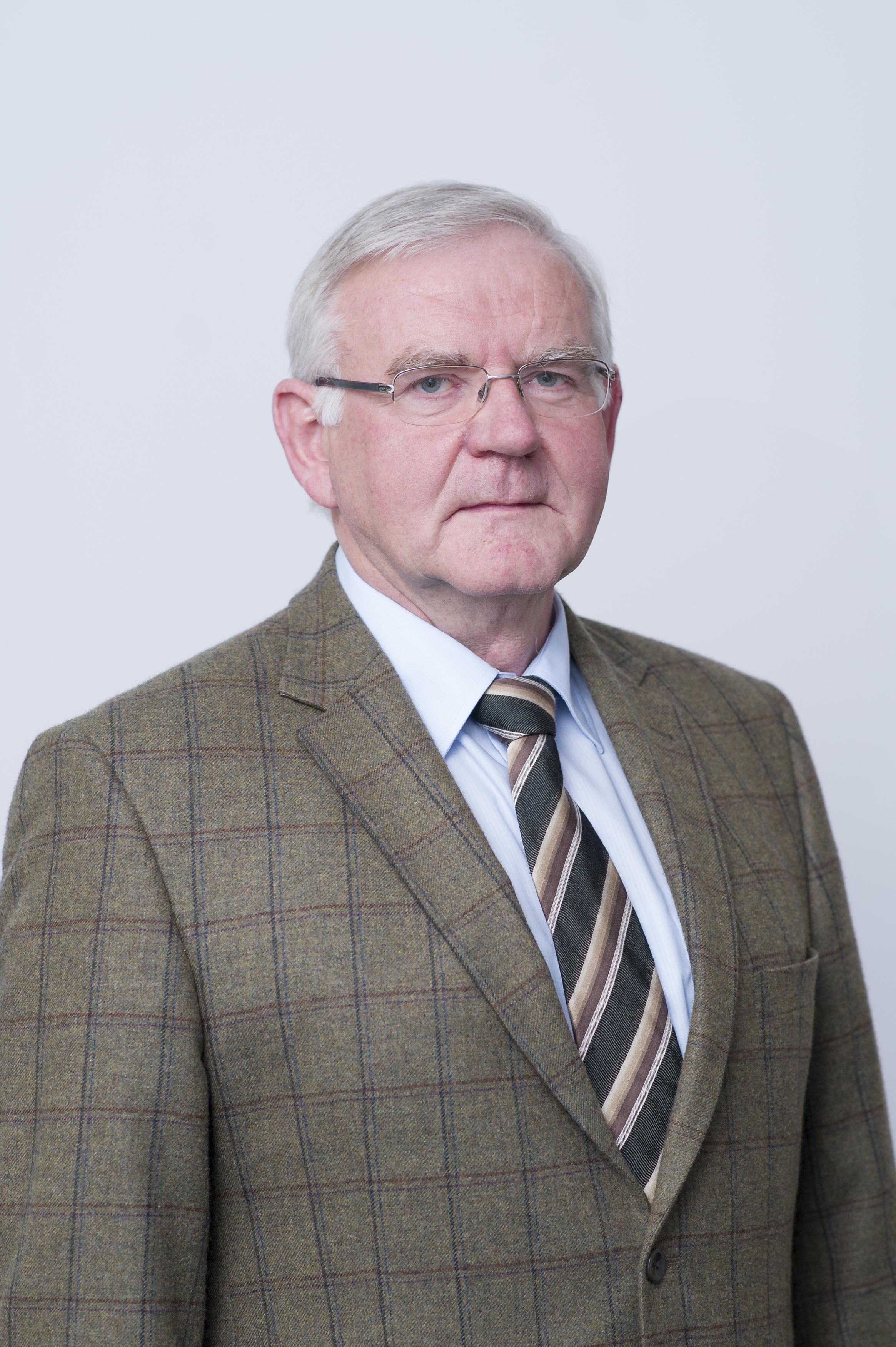 Dr. Hans-Heinrich Jordan, Präsident des Landesjagdverbandes Sachsen-Anhalt