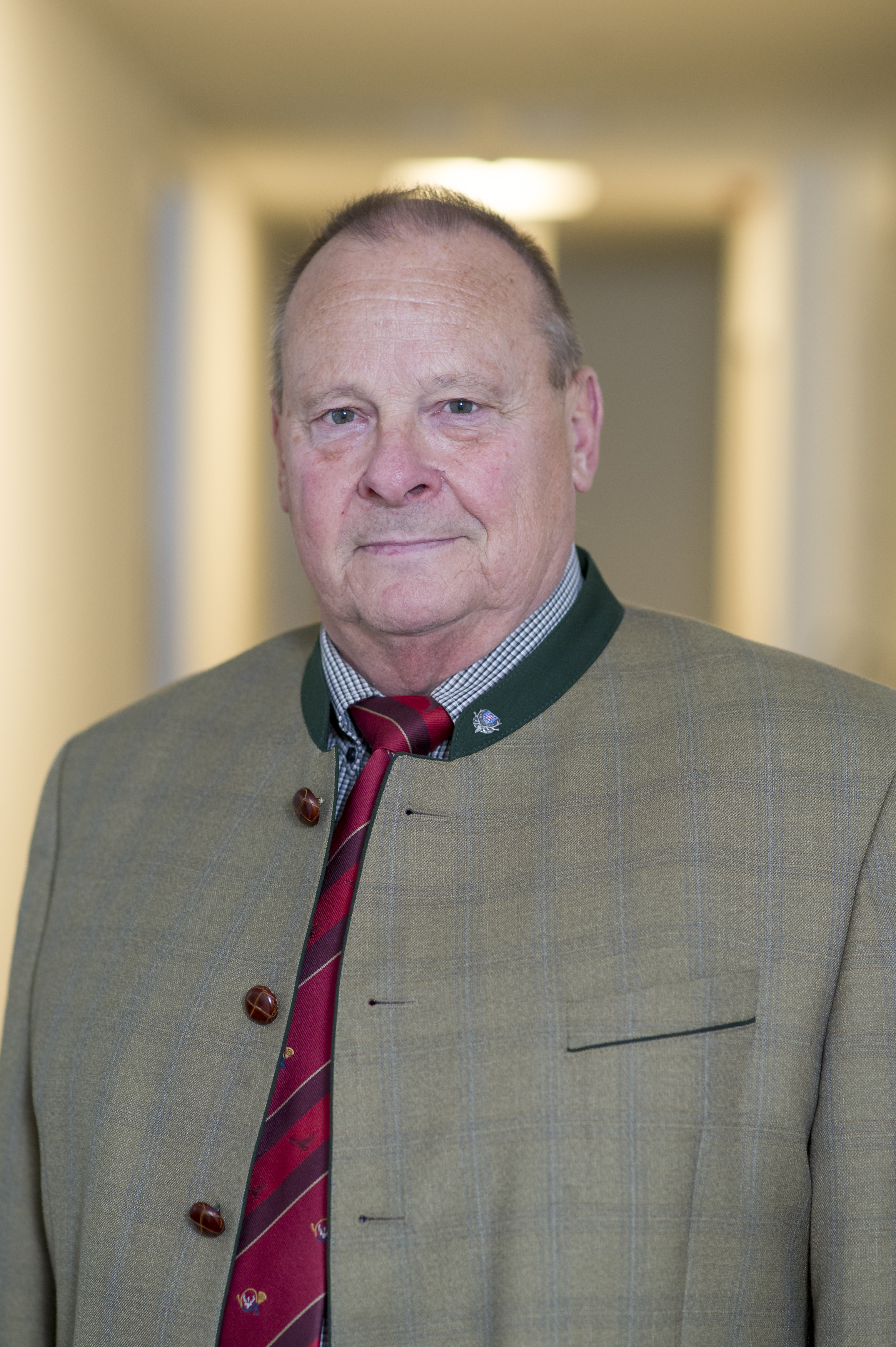 Steffen Liebig, Präsident des Landesjagdverbandes Thüringen