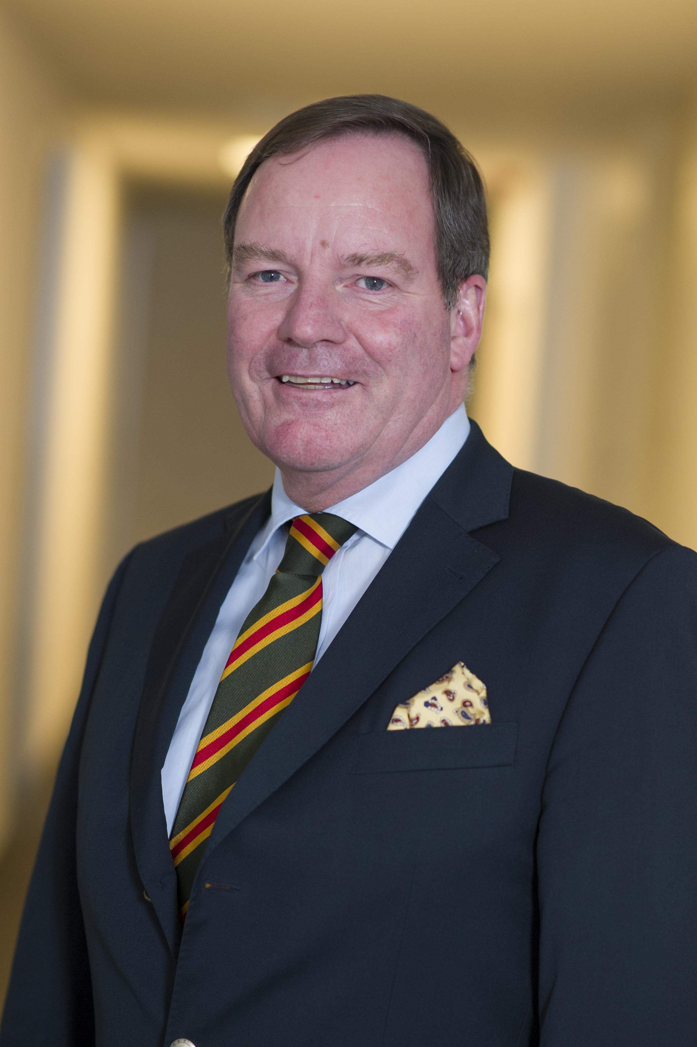 Joachim F. Weinlig-Hagenbeck, Präsident des Landesjagd- und Naturschutzverbandes Freie und Hansestadt Hamburg