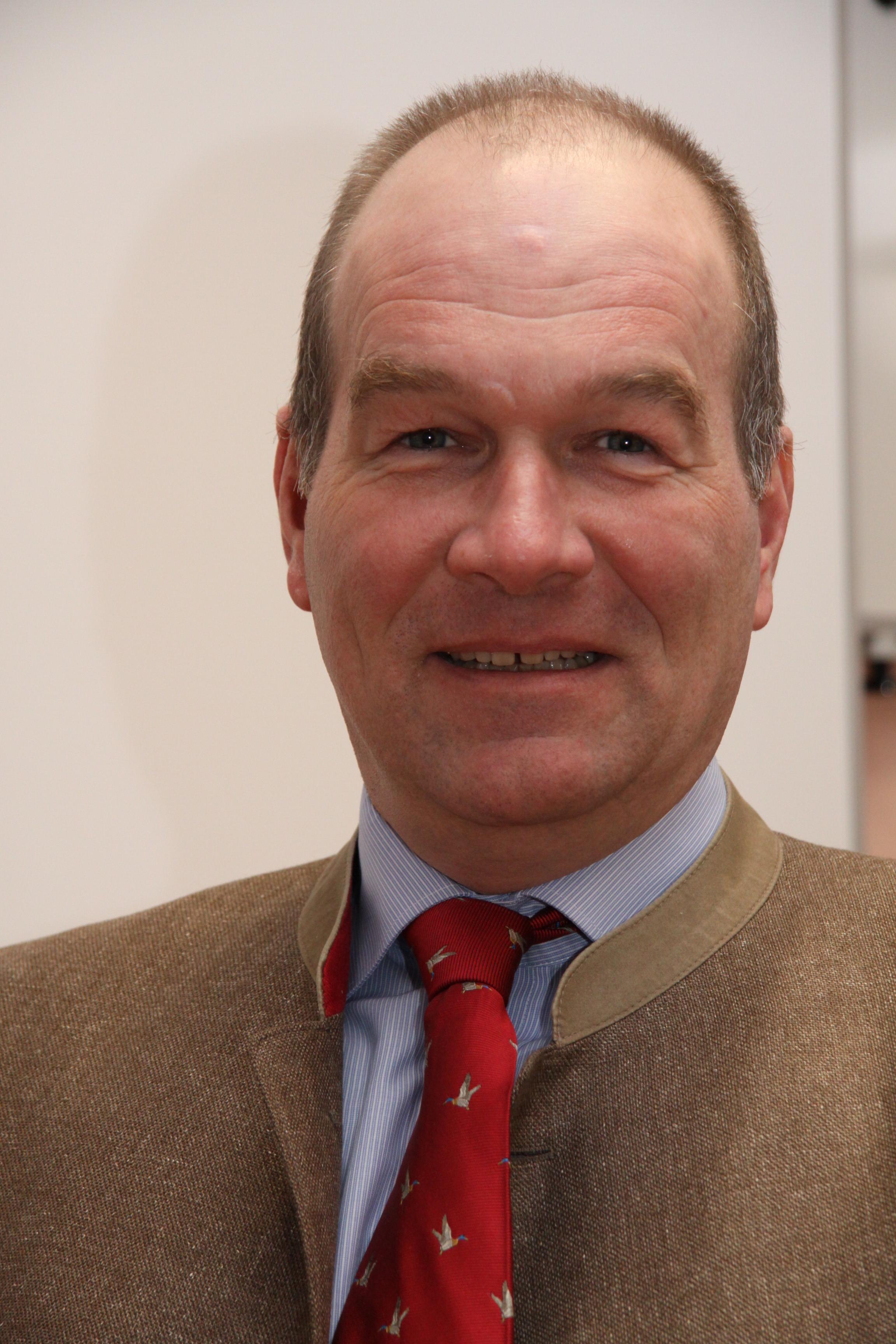 Dr. Dirk-Henner Wellershoff, Präsident des LJV Brandenburg