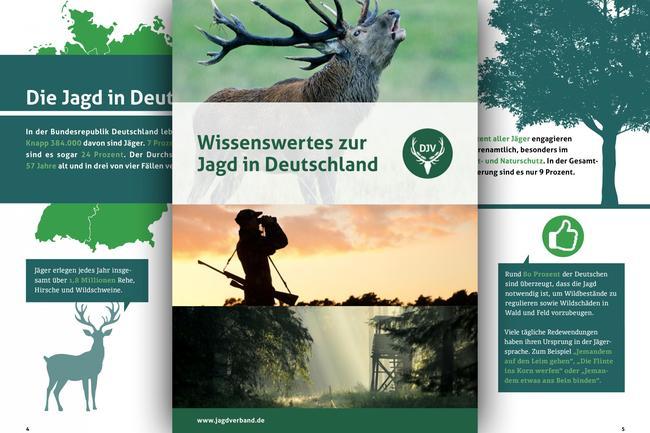 """Die neue Broschüre """"Wissenswertes zur Jagd"""""""