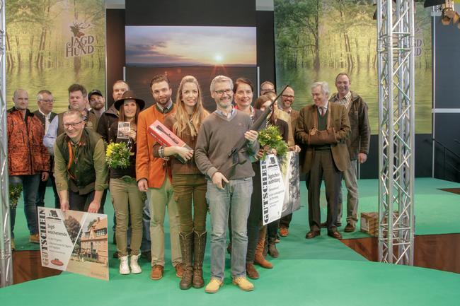 Die glücklichen GewinnerInnen der Aktion Gemeinsam Jagd erleben in Dortmund 2019
