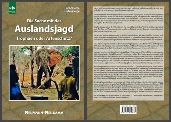 Wer auf der Suche nach gebündelten Informationen, Zahlen und Fakten rund um die Jagd im Ausland ist, wird mit diesem Buch bestens versorgt.