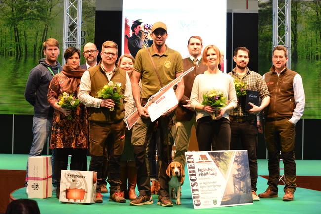 #jaegen19 Gewinner auf der Preisverleihung in Dortmund