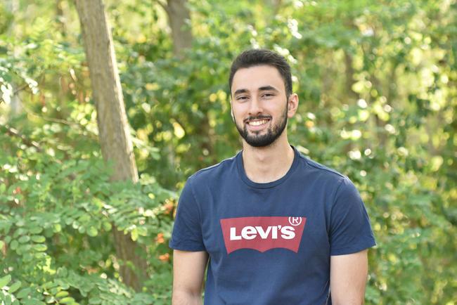 Bashar hat ein zweimonatiges Praktikum beim DJV absolviert