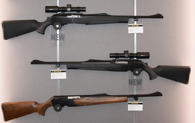 Halbautomatische Jagdwaffen