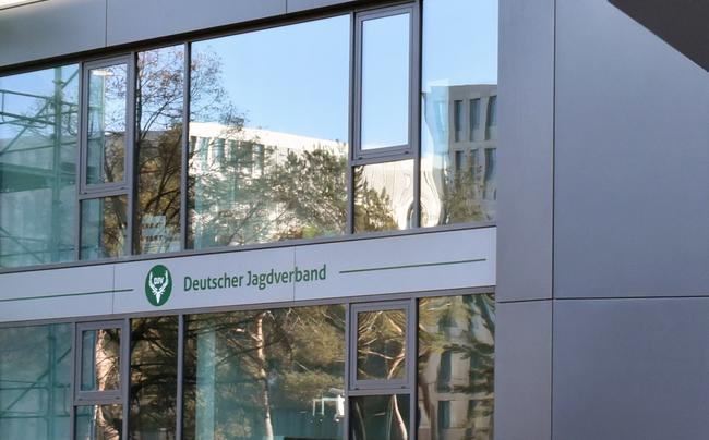 Die DJV-Geschäftsstelle auf der Chausseestraße in Berlin.