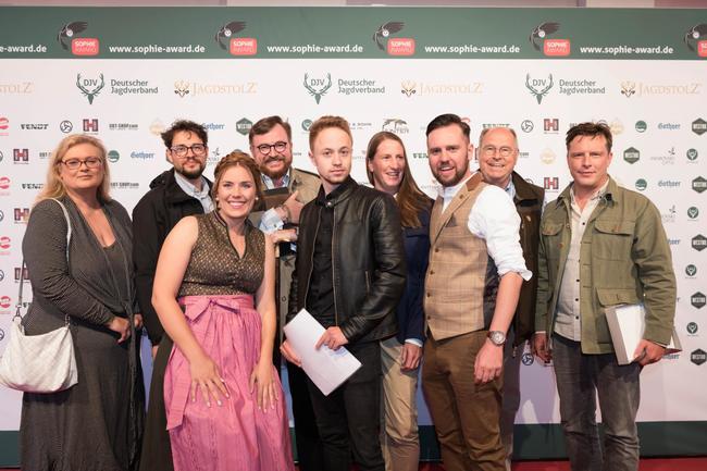 Jury des Sophie Awards 2019 und Moderatoren-Team