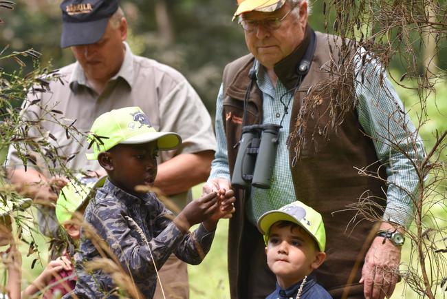 DJV-Präsident Hartwig Fischer auf Erlebnisreise mit Nettis Naturkindern