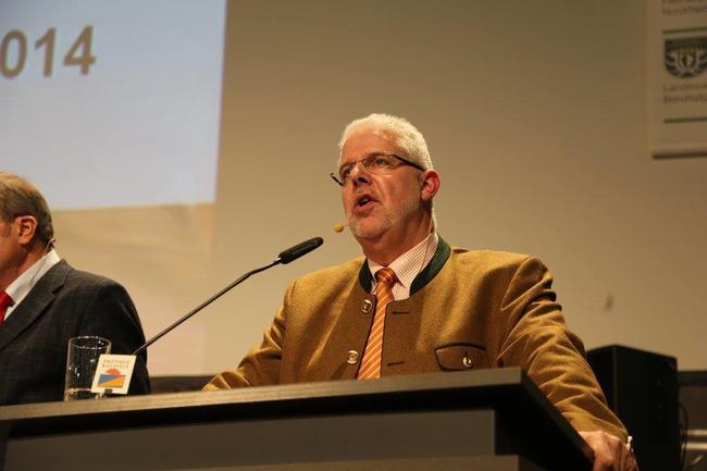 """LJV-Präsident Ralph Müller-Schallenberg: """"Es geht nicht um ein Bleiverbot bei Jagdmunition. Das ist schlicht unmöglich. Es geht um eine Minimierung. Und das fällt in die Bundeskompetenz!"""""""