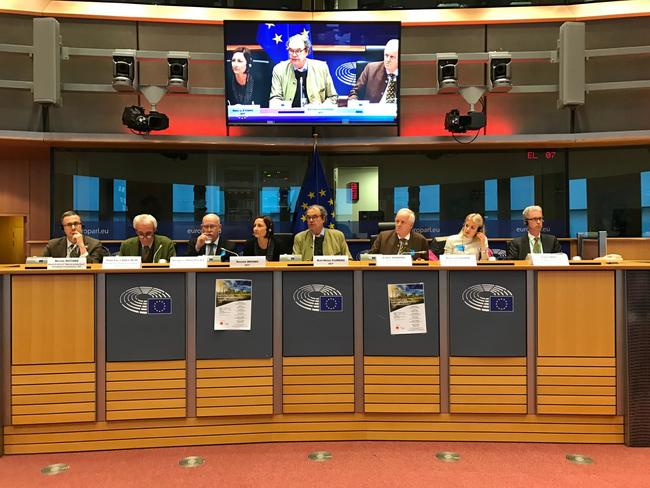 Die Referenten der Konferenz waren Vertreter der europäischen Instituitionen und der Mitgliedsstaaten.