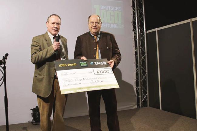 """Der DJV sagt """"Danke"""": Mit dem Geld können weitere Projekte der erfolgreichen Bildungsinitiative der Jäger finanziert werden."""