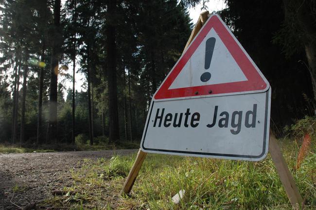 Bei Warnschildern sollten Autofahrer die Geschwindigkeit deutlich drosseln. Erholungssuchende sollten die mit Schildern markierten Gebiete meiden.