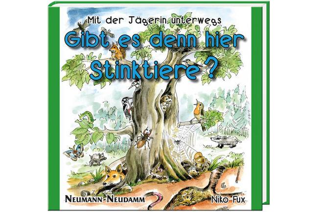 Gibt es denn hier Stinktiere? Ein Kinderbuch von Niko Fux.