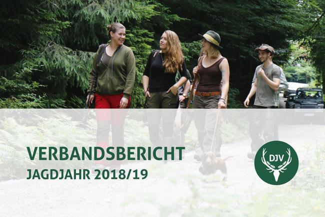 Anlässlich des Bundesjägertages hat der Deutsche Jagdverband heute in Berlin seinen neuen Verbandsbericht vorgestellt.