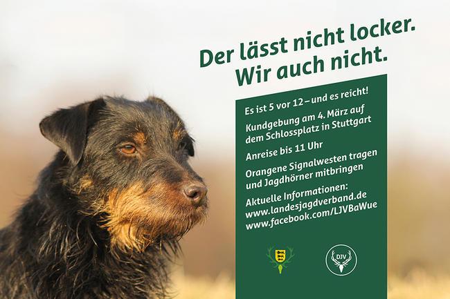 Der Lässt Nicht Locker - Wir Auch Nicht. Am 4. März nach Stuttgart!