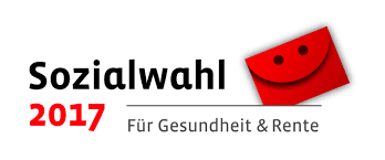 Offizielles Logo der Sozialwahl 2017