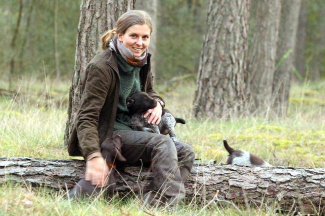Die Hundeausbildung ist die große Leidenschaft von Revierjagdmeisterin Anja Blank