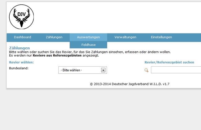 DJV WILD-Datenbank