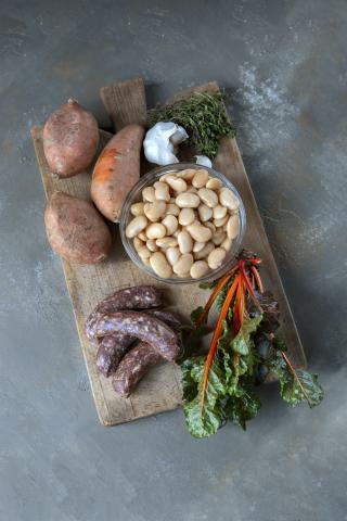 Zutaten Wildschwein-Salsicca