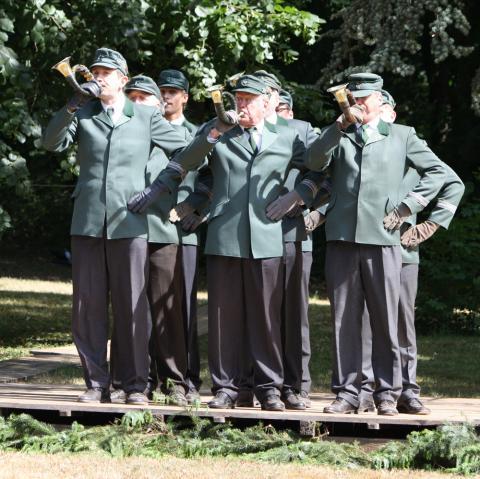 Bundeswettbewerb Jagdhornblasen 2011
