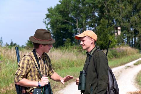 Viele Redewendungen werden noch immer bei der Jagd verwendet. (Quelle: Martinsohn/DJV)