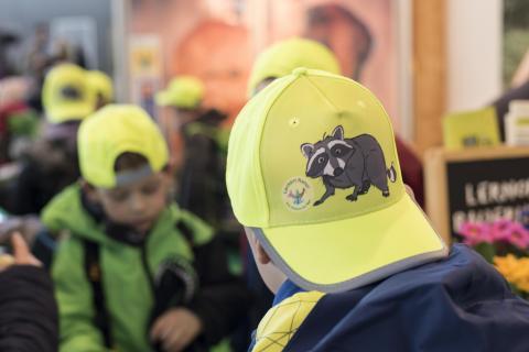 Der Deutsche Jagdverband zeigt in Hannover, wie mit jagdlicher Naturpädagogik ein fächerübergreifender Unterricht lebendig und spannend gestaltet werden kann. (Quelle: Kapuhs/DJV)