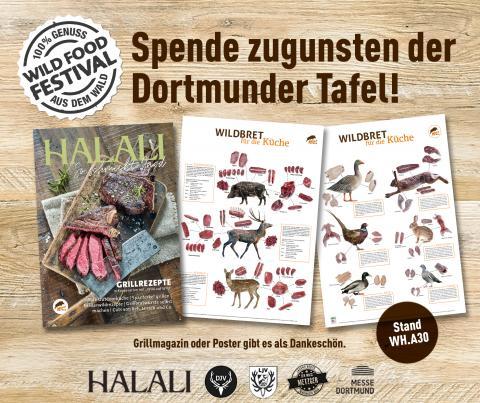 Spendenaufruf Wild Food Festival Dortmunder Tafel