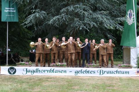 Sieger des Bundeswettbewerbs Jagdhornblasen 2015