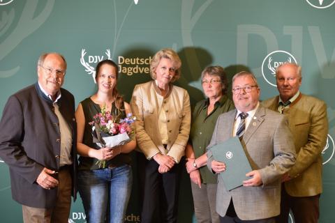 Sonderpreis Kommunikation: 3. Preis Kreisjägerschaften Vechta und Cloppenburg (Quelle: Kapuhs/DJV)