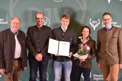 Sonderpreis Kommunikation: Hegering Laupheim (Quelle: Kapuhs/DJV)