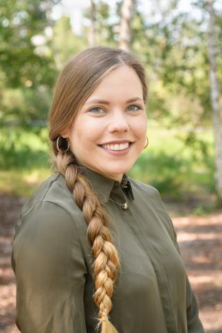 Katharina Milinski, Volontärin (Quelle: Recklinghausen/DJV)