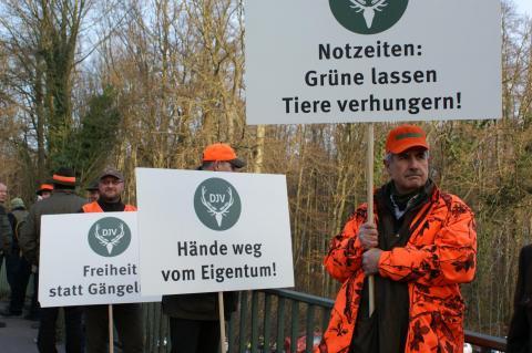 KJS Unna protestiert gegen Jagdgesetznovelle in NRW
