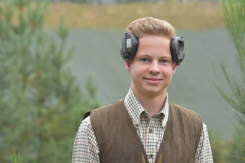 Jüngster Teilnehmer der diesjährigen #BMJS17 ist Niklas Friemuth.