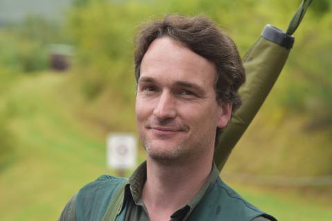 """Sein persönliches Ziel erreicht hat Sven Kuchler (42) aus Bad Oeyenhausen: """"Ich habe das erreicht, was ich mir vorgenommen habe. Es wird wohl nicht für einen der vorderen Plätze reichen- aber ich bin zufrieden."""" Die Anlage findet beim 42-Jährigen Gefallen"""