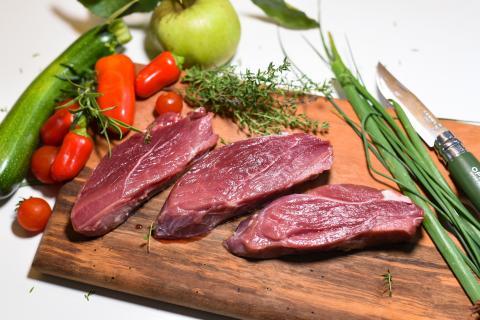 Zutaten Wildschwein-Steak