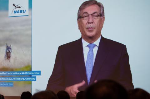 Karmenu Vella, EU-Kommissar für Umwelt, Naturschutz, Maritime Angelegenheiten und Fischerei