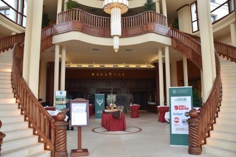 Eingangshalle Kongresszentrum