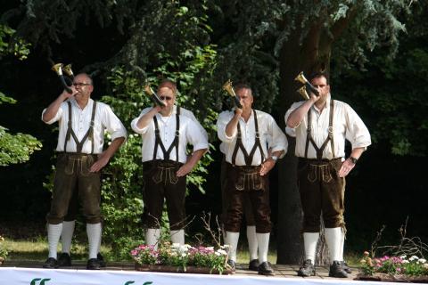 Sieger des Bundeswettbewerbs im Jagdhornblasen 2015