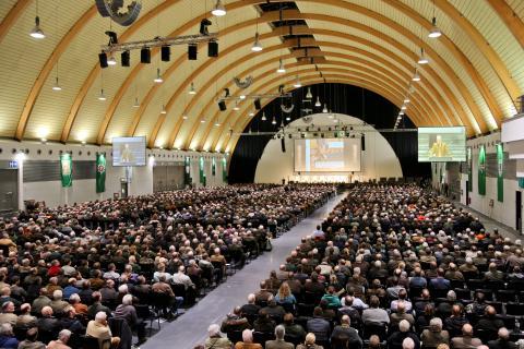 Über 3.000 Jäger kamen nach Bielefeld (Quelle: DJV)