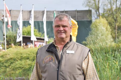 """Matthias Dahlmann ist seit sieben Jahren ehrenamtlicher Hauptrichter bei der #BMJS. Er besitzt seit 1994 den Jagdschein und waidwerkt in Schleswig-Holstein. Er ist der Meinung: """"Geübt wird auf dem Schießstand und nicht am lebenden Tier."""" (Quelle: Kapuhs/DJV)"""