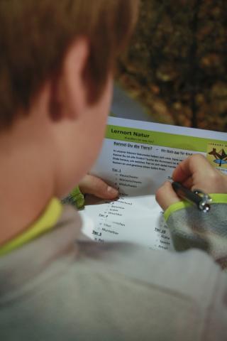 Im Biotop-Quiz zeigt sich was die Kinder gelernt haben