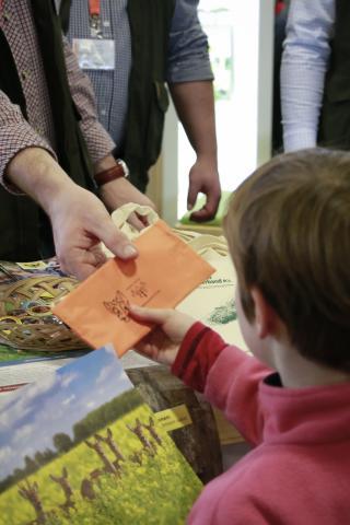 Die Lernort-Natur-Federmappe ist bei Kindern besonders beliebt