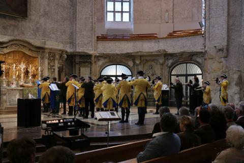Hubertusmesse in der Kreuzkirche in Dresden