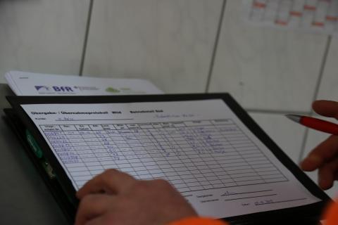 Datenabgleich beim Wildhändler im LEMISI-Projekt