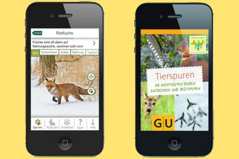LON Tierspuren App (Quelle: DJV)