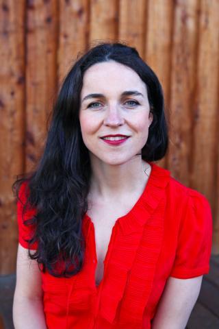 Buchautorin Louise Gray