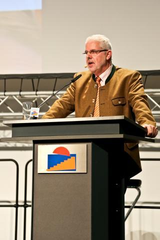 LJV-Präsident Ralph Müller-Schalenberg: