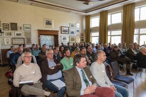 Das Publikum auf der Praktikertagung (Quelle: Seifert/DJV)