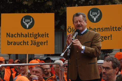 Dr. Walter Arnold (CDU) (Quelle: Seidemann/DJV)
